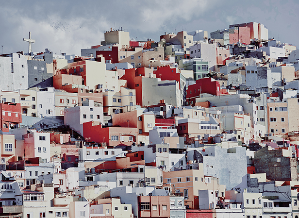 Colorful Houses of Las Palmas de Gran Canaria